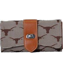 texas longhorns signature wendy wallet
