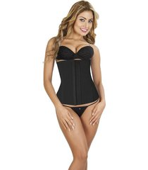 cinturilla corset en powernet italiana negro