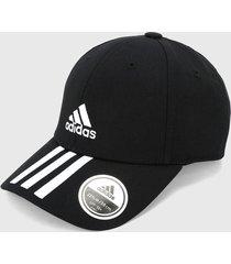 gorra negro-blanco adidas performance bball 3s cap ct