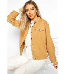 oversized utility jacket, tan
