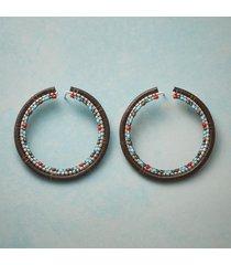 traverse hoop earrings