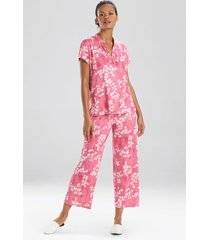 cherry blossom sleepwear pajamas & loungewear, women's, size xs, n natori