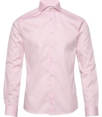 royal twill shirt overhemd business roze eton
