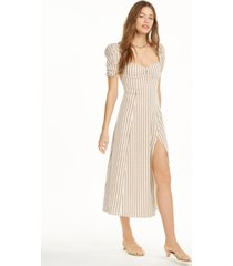danielle bernstein striped maxi slip dress, created for macy's