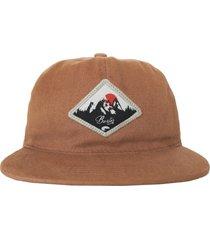 gorra marrón buxter snapback blezer