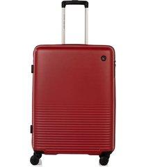 maleta de viaje mediana rígida con cuatro ruedas giratorias 93067