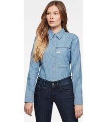 core 1 pocket straight overhemd