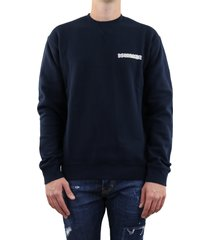 sweater d2 blauw