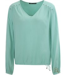 expresso dames blouses turquoise