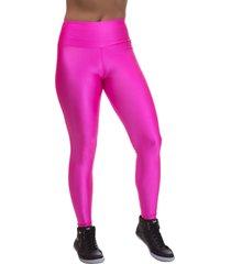 legging  miss blessed premium skinny cirrãªârosa - rosa - feminino - poliamida - dafiti