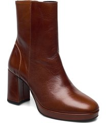 asta shoes boots ankle boots ankle boot - heel brun pavement