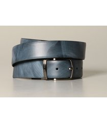 armani exchange belt armani exchange belt in reversible leather