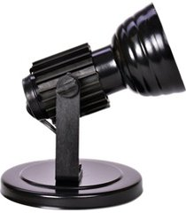 spot refletor para 1 lâmpada preto