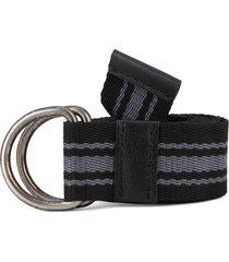 cinturón negro-gris colore