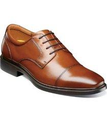 zapatos forecast cap toe oxford cognac florsheim