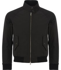 baracuta womens g9 harrington jacket | black | brcps0218-100