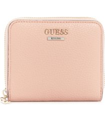 guess becca small zip around wallet