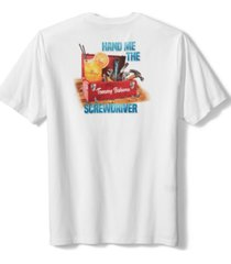 tommy bahama men's hand me the screwdriver logo graphic t-shirt