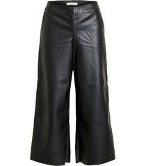 byxor vipen rwrx cropped coated pants