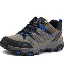 sneakers casual da indossare indossabili resistenti allo scivolamento in tessuto per uomo di grandi dimensioni
