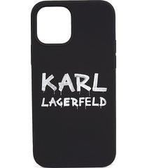 karl lagerfeld iphone 12 / iphone 12 pro silicone case