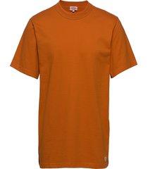 round neck t-shirt t-shirts short-sleeved orange armor lux