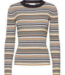 nap blouse t-shirts & tops knitted t-shirts/tops multi/mönstrad storm & marie