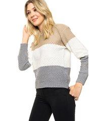 sweater beige moni tricot