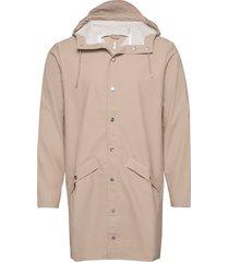 long jacket regenkleding beige rains