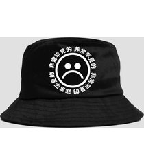 new hot hunting fishing bucket hat cap sun protection cotton summer sad boy cry
