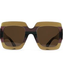 matt & nat avila sunglasses, brown