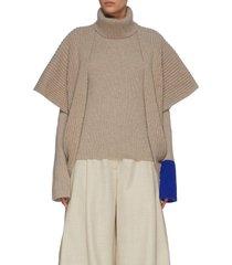 'tavi' knitted turtleneck sweater