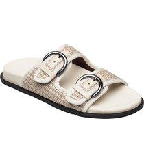 algebra shoes summer shoes flat sandals beige weekend max mara