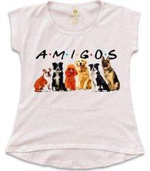 camiseta cool tees filmes e series feminina - feminino
