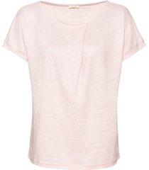 linnen-jersey shirt, mauve 36/38