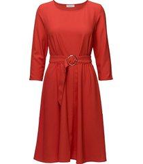 2nd june jurk knielengte rood 2ndday