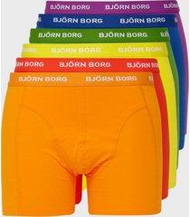 björn borg seasonal solid sammy shorts boxershorts tomato