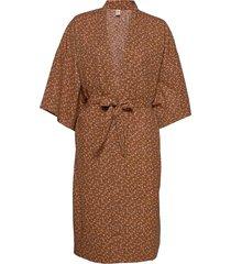 aiyana liberte kimono kimonos brun becksöndergaard