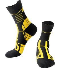 uomo long tube sports calze nylon traspirante traspirante calze running hiking calze