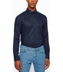 boss men's ronni 53 slim-fit shirt