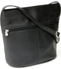 royce lightweight shoulder bag in colombian genuine leather