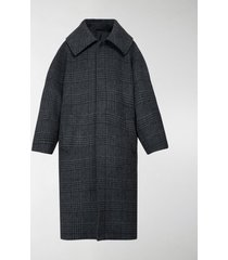 balenciaga incognito prince of wales checked coat