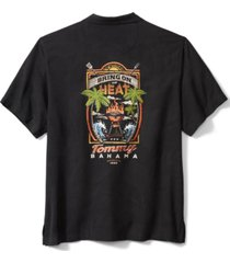 tommy bahama men's bring on the heat graphic silk short-sleeve shirt