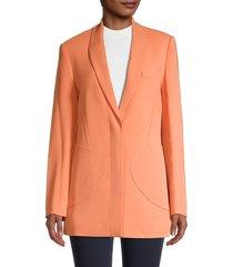 jonathan simkhai women's sedona longline jacket - sedona - size 2