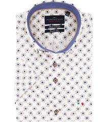 overhemd korte mouwen portofino bloemenprint