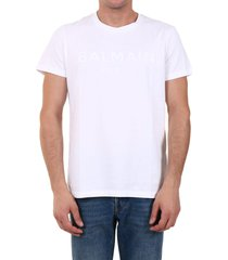 balmain t-shirt logo white