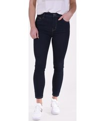 current/elliott jeans high waist stiletto blauw