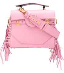 balmain b-buzz 23 shoulder bag - pink