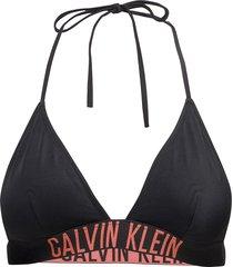 triangle-rp bikinitop svart calvin klein