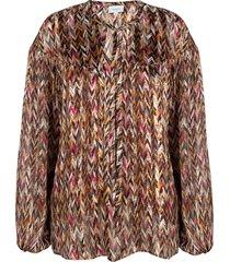 blouse met print june  multi